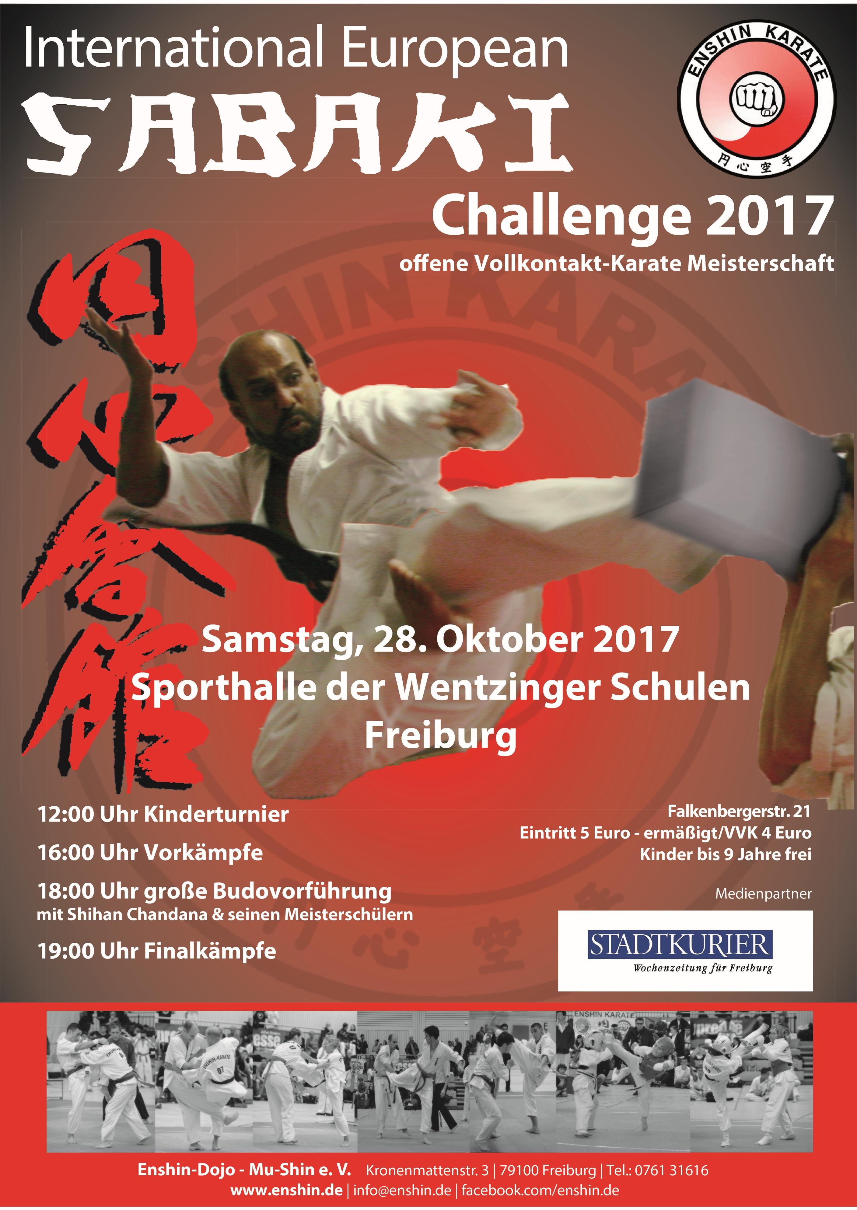Europameisterschaft Enshin Karate