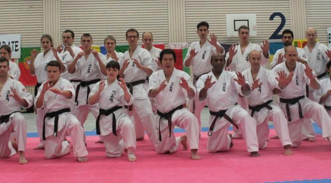 Europäisches Enshin Karate Seminar mit Großmeister Kancho!