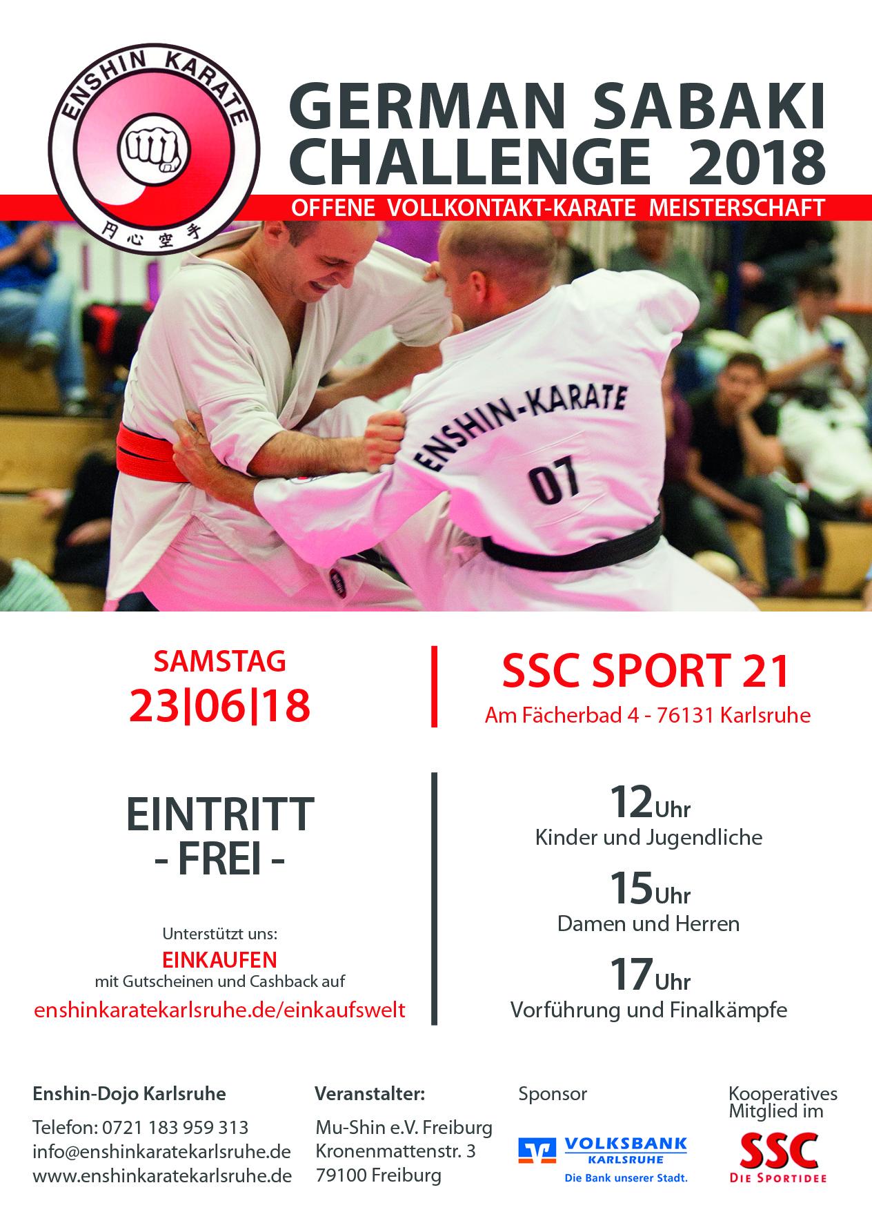 German Sabaki Challenge 2018