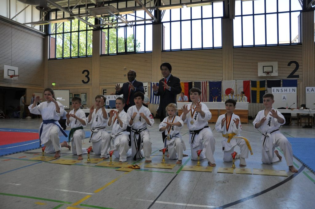 Europameisterschaft Kinder Karate