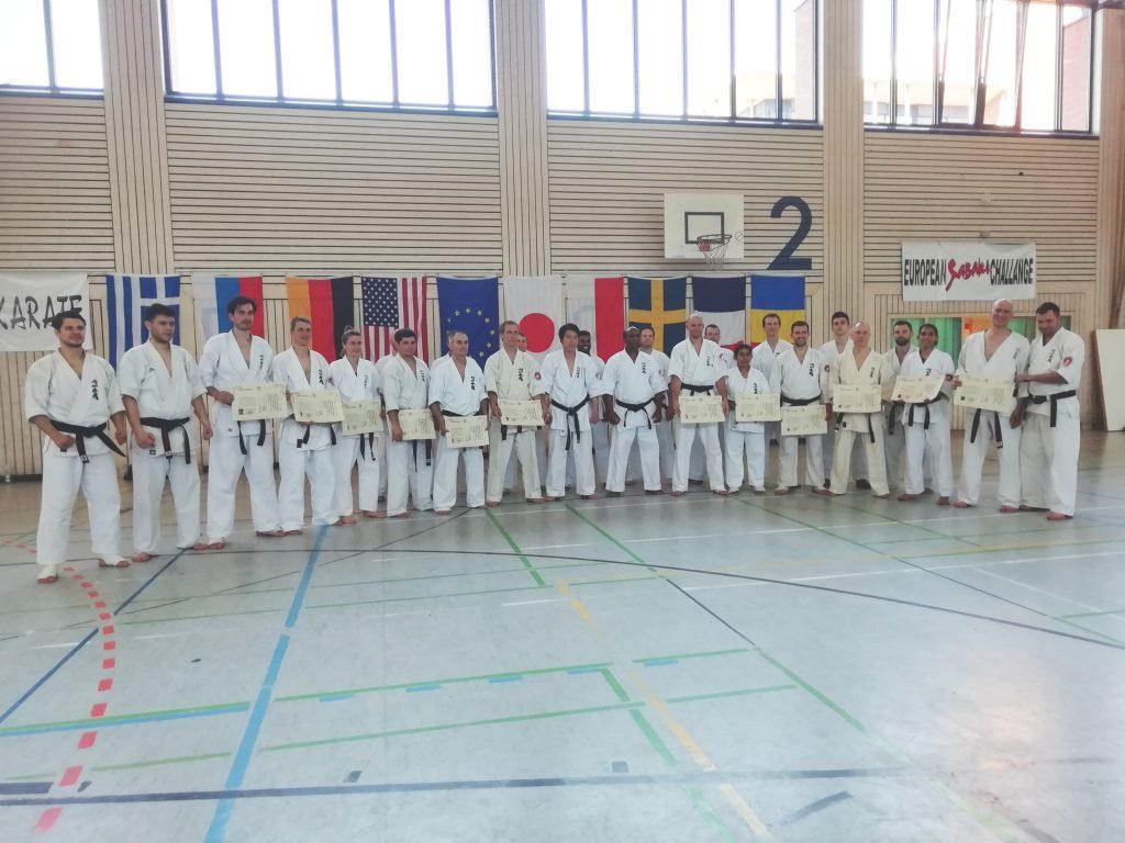 Enshin Karate Schwarzgurtprüfung Freiburg